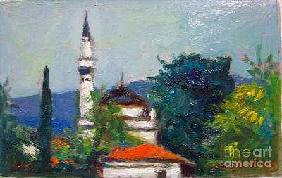 Painting - Ioannina by George Siaba
