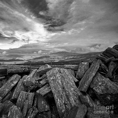 Photograph - Snaefell Mountain by Paul Davenport