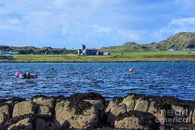 Iona Abbey Isle Of Iona Art Print