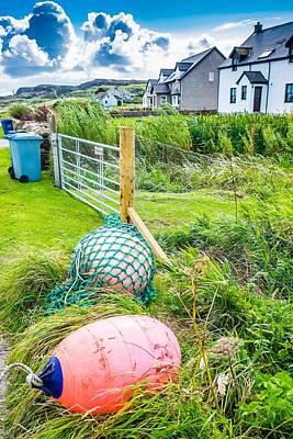 Photograph - Iona Island Village Scene by Cliff C Morris Jr