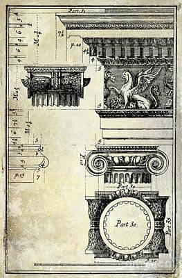 Ionic Capitol Art Print