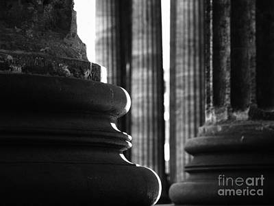 Olia Saunders Photograph - Ionic Columns Saint Petersburg by Design Remix