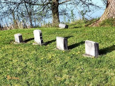 Photograph - I O O F Alder Cemetery 2 by Sadie Reneau