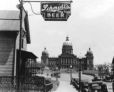 Photograph - Iowa Des Moines, 1940 by Granger