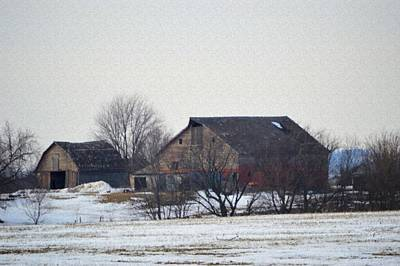 Photograph - Iowa Farm Scene by Bonfire Photography