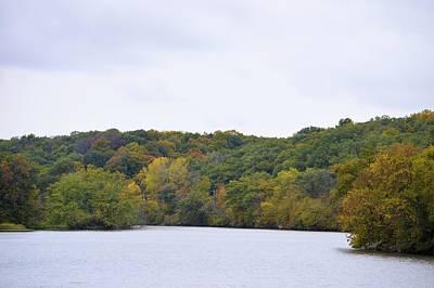 Photograph - Iowa River by Bonfire Photography