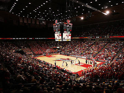 Photograph - Iowa State Cyclones James H. Hilton Coliseum by Replay Photos