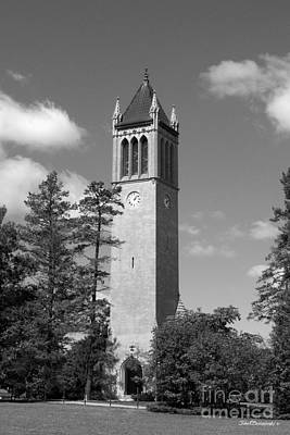 Staff Photograph - Iowa State University Campanile by University Icons