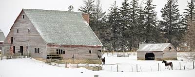 Photograph - Iowa Winter Farm by Bonfire Photography