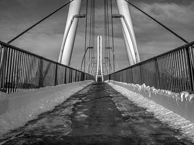 Photograph - Ipfw Bridge by Michael Colgate