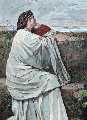 Contemplating Photograph - Iphigenia Daughter Of Agamemnon by Prisma Archivo