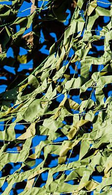iPhone Case - Camouflage Net - Featured 3 Art Print by Alexander Senin