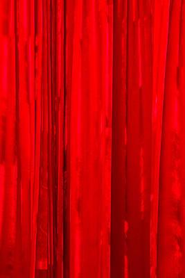 iPhone Case - Red Curtain Art Print by Alexander Senin