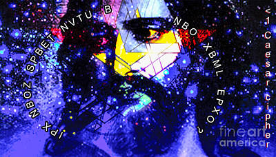 Cipher Digital Art - IPX by Algirdas Lukas
