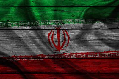 Iran Art Print