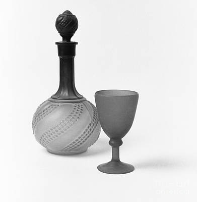 Photograph - Iranian Glass Carafe And Goblet by Paul Cowan