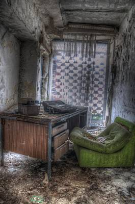 Haunted House Digital Art - Iraq Office by Nathan Wright