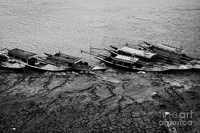 Photograph - Irrawaddy Boats by Dean Harte