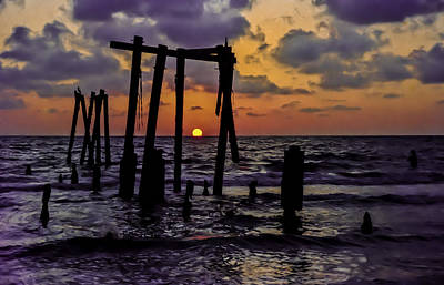 Photograph - Irb Sunset by Randy Sylvia