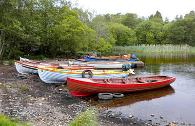 Ireland Boats 2 Art Print