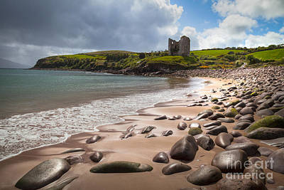 Ireland - Castle Minard Art Print
