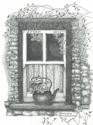 Ireland Cottage Window Original