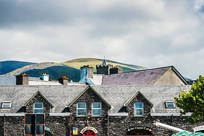 Photograph - Ireland Hills And Roof Tops by Edward Peterson