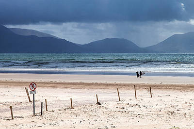 Ireland - Inch Beach Art Print