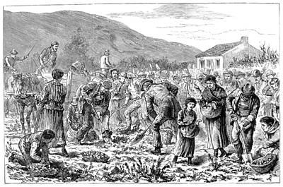 Ireland Peasants, 1886 Art Print