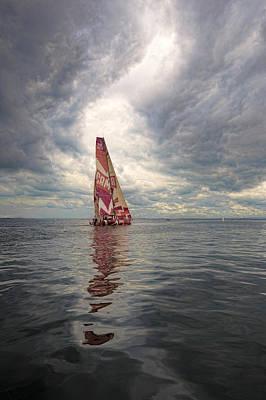 Ireland Sail Art Print by Chris Cameron