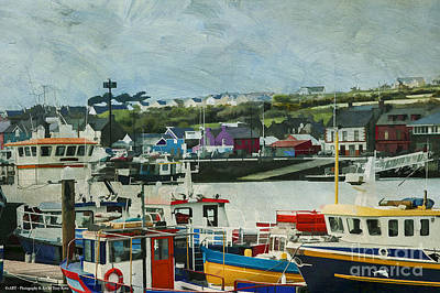 Photograph - Ireland's Dingle Harbor by Terry Rowe