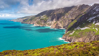 Photograph - Ireland's Tallest Sea Cliffs At Slieve League by Pierre Leclerc Photography