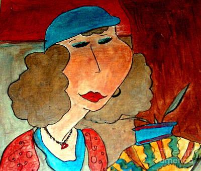 Painting - Irena by Iris Gelbart