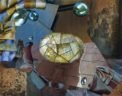 Mixed Media - Iridescent Dreams by Denise Mazzocco