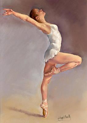 Irina Art Print by Margaret Merry