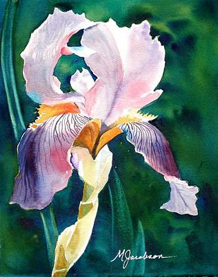 Painting - Iris 1 by Marilyn Jacobson