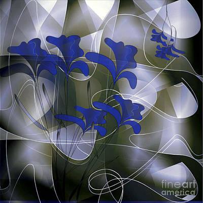 Digital Art - Iris 2 by Iris Gelbart