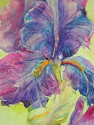 Painting - Iris Cracked Up by Annika Farmer