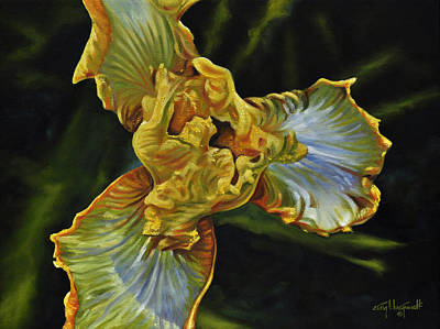 Painting - Iris by Craig T Burgwardt