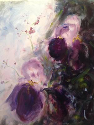 Painting - Iris Fog by Karen Carmean