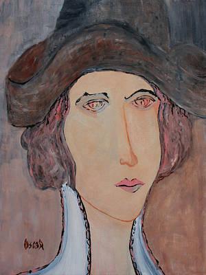 Painting - Iris II by Oscar Penalber