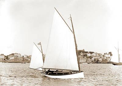 Iris Drawing - Iris, Iris Yacht, Yachts by Litz Collection