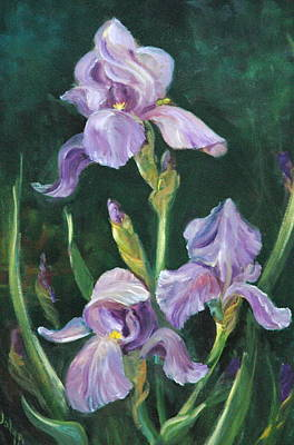 Painting - Iris by Jolyn Kuhn