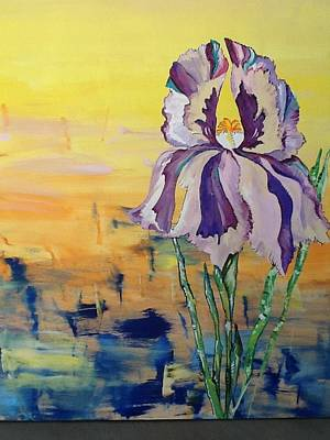 Painting - Iris by Karen Carnow