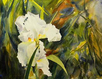 Painting - Iris No1 by Todd Derr