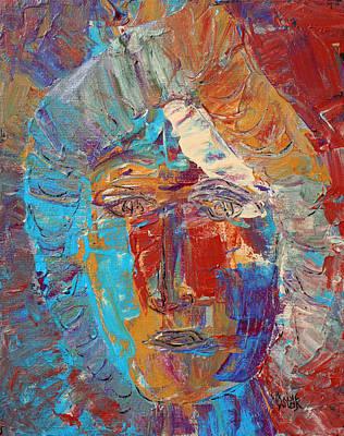Painting - Iris by Oscar Penalber