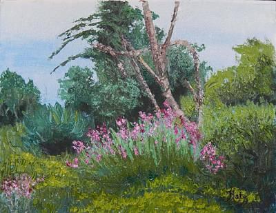 Fragrent Painting - Iris Pallett by Kathy Przepadlo