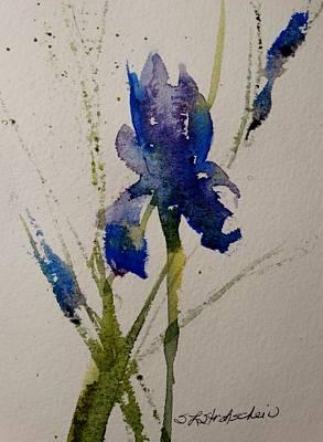 Painting - Iris by Sandra Strohschein