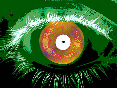Photograph - Iris Scan, Identity Verification, 2012 by NIST and Science Source