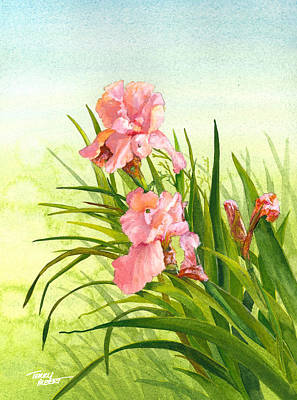 Painting - Iris by Terry Albert